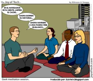 meditacion geek